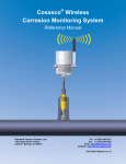 Cosasco® Wireless Corrosion Monitoring System