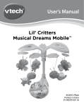 User`s Manual Lil` Critters Musical Dreams Mobile