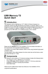 USB Mercury T2 Quick Start 1 - Digi-Key