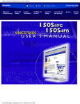 Philips 150S4FG/150S4FB Electronic User`s Manual