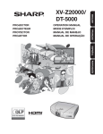 XV-Z20000 | DT-5000 Operation Manual