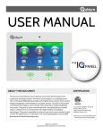 to the Qolsys IQ User Manual