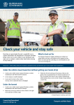 Transport Inspectors and vehicle safety factsheet