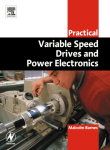 Practical Variable Speed Drives and Power Electronics Malcolm