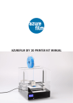 AZUREFILM DIY 3D PRINTER KIT MANUAL