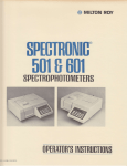 Milton Roy Spectronic SP501 601