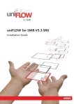 uniFLOW for SMB V5.3 SR6 - NT-ware