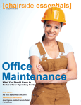 Office Maintenance Guide 2015