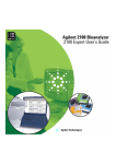 Agilent 2100 Bioanalyzer User`s Guide