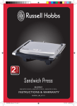 Sandwich Press - Russell Hobbs