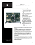 Specifications Sheet - Globaltech Sourcing & Solutions, MVME