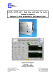 UC75 / UC75-MC - Real time controller for multi