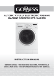 automatic fully electronic washing machine goddess wfd