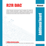 R2R DAC User Manual - Mouser Electronics