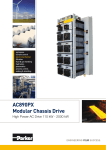 AC890PX-M Modular Chassis AC Drives