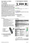 FBs-CMGSM, B1-CMGSM User`s Manual