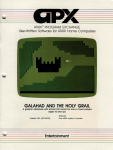 galahad and the holy grail - Museum of Computer Adventure Game