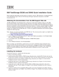 IBM TotalStorage DS300 and DS400 Quick Installation Guide
