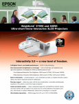 Interactivity 3.0 — a new level of freedom. BrightLink® 475Wi and