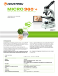 INSTRUCTION MANUAL Multi-Purpose Microscope with 2MP Imager