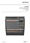 CLP1200 Manual - Interstate Audio