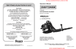 warning - K&T Parts House Lawn Mower Parts & Chain Saw