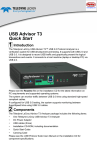 USB Advisor T3 Quick Start - Digi-Key