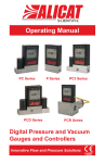 Alicat Pressure Gauge Controller Manual