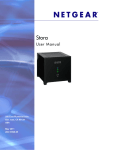 NETGEAR Stora User Manual