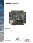 CMV34M Hardware Manual - RTD Embedded Technologies, Inc.
