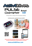 Pulse Oximeter Bluetooth 2.0 User Guide Read this