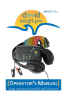Delight Pro Operator`s Manual