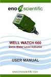 WELL WATCH 660 USER MANUAL