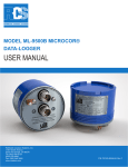 USER MANUAL - Rohrback Cosasco Systems