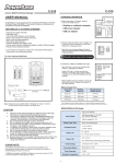 C-515 User Manual - PowerBase Ind. (HK) Ltd.