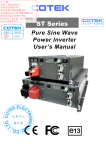 Installation Manual - Canadian Power Conversion