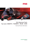 FAG Alignment Tools Top-Laser: SMARTY2 · TRUMMY2 · INLINE