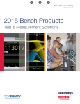 the 2015 Tektronix Catalog