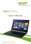 Acer Aspire VN7-791G User Guide Manual