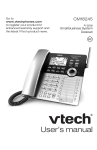 User`s manual - VTech Communications