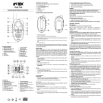 USER MANUAL T90 UK
