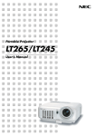 LT265/LT245 - Projector Central