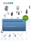 Windows Mobile enrollment guide - Wiki