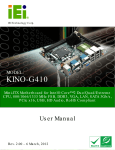 KINO-G410 Mini-ITX Motherboard