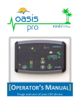 Oasis Pro user`s manual