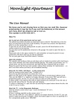 The User Manual - Moonlight Apartment