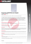 Powerline AV200 Ethernet Adapter