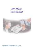 SIP-Phone User Manual