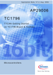 TTCAN Getting Started on TC1796-Board & Toolkits