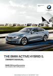 2013 Active Hybrid Owners Manual